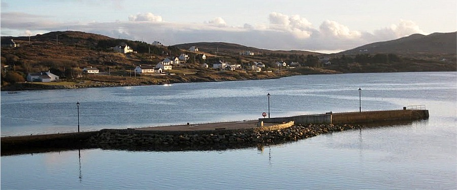 Dungloe Bay - experience the scenic splendour of the Rosses and stay at Fairgreen Holiday Cottages, Dungloe, North West County Donegal, Ireland
