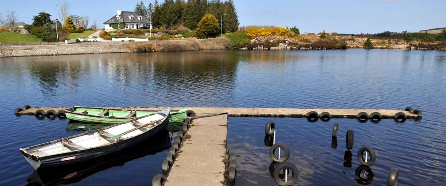 Dungloe lake near Fairgreen Holiday Cottages, Dungloe, North West County Donegal, Ireland