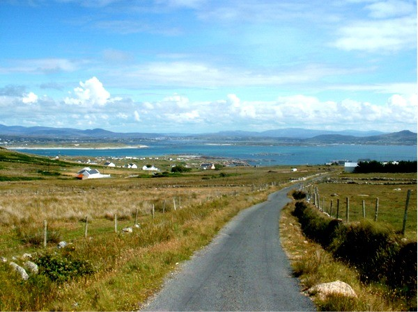 View of the mainland from Arranmore Island